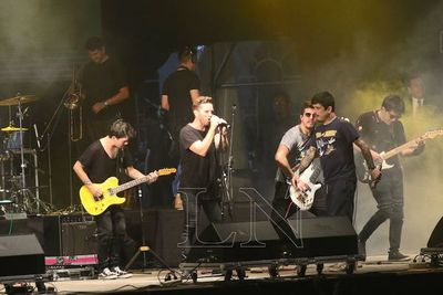 """""""No somos una banda de rock, pero en nuestra sangre hay influencias"""""""