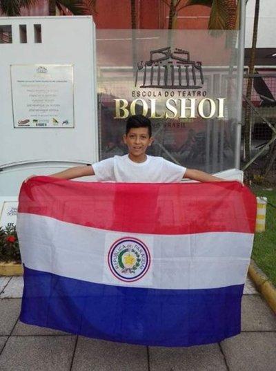 Tobías Cristaldo compartirá lo aprendido en el Bolshoi de Brasil