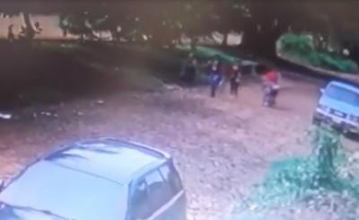 Mujeres asaltadas por motochorros en Ciudad Nueva