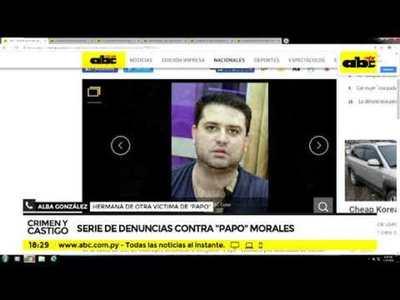 Serie de denuncias contra Papo Morales