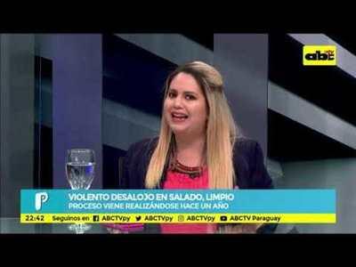 Mesa de Periodistas: Violento desalojo en Salado, Limpio