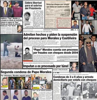 Papo Morales se expone por primera vez a una sentencia de hasta 25 años
