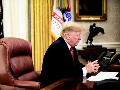 Trump cumple 2 años como presidente de los EEUU