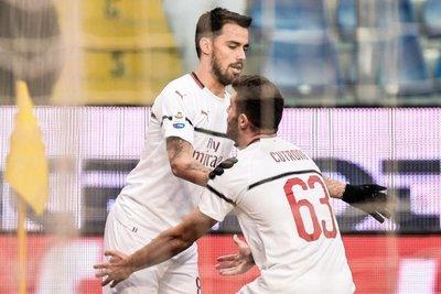 Milan gana con goles de Borini y Suso