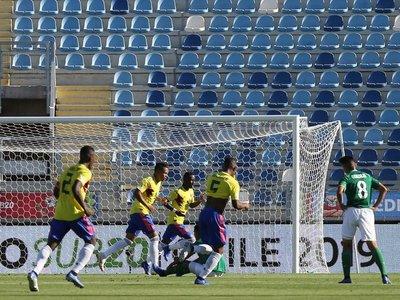 Colombia vence a Bolivia y se ubica en el segundo lugar