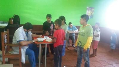 Asistencia integral llega a comunidad indígena de Presidente Franco