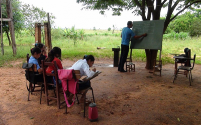 Educación en estado de emergencia en el departamento de Caaguazú