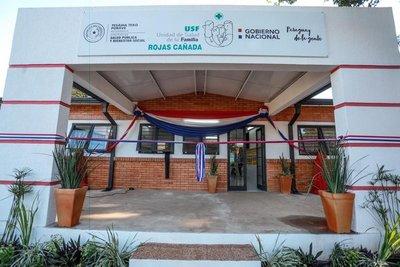 Salud inauguró dos USF en Capiatá y Areguá