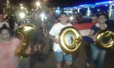 "Completan 100 noches de escraches, con hostigamiento de ""contramanifestantes"""