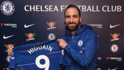 Higuaín en el Chelsea y gira la rueda