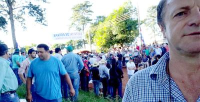 Moradores de San Alberto evitan desalojo y se declaran en vigilia