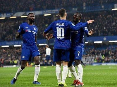 Hazard, Kanté y los penales llevan al Chelsea a Wembley
