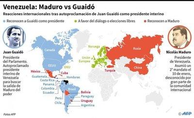 """Inminente captura y encarcelamiento del presidente """"interino"""" de Venezuela"""