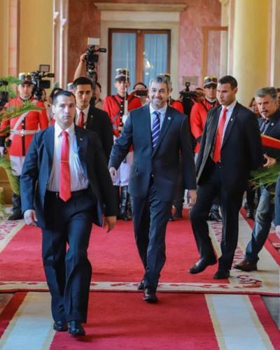 Mandatario desarrolla hoy su agenda en Palacio de Gobierno