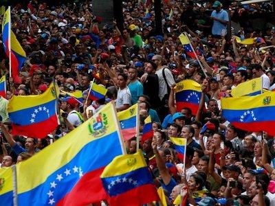 El mundo pide una salida pacífica en Venezuela