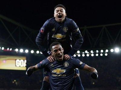 El triunfal Manchester de Solskjaer deja sin Copa al Arsenal