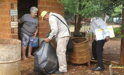 Confirman dos casos de dengue en Minga Guazú