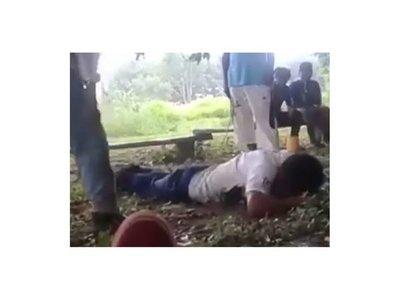 Brutal tortura a joven indígena puso en alerta a autoridades en Caaguazú