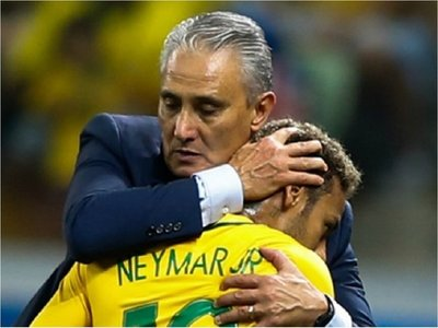 Tite pone en duda la presencia de Neymar en Copa América