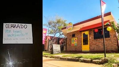"""HOY / """"ANDE, me arruinaste el negocio"""": emprendedor cierra su local a días de habilitarlo"""