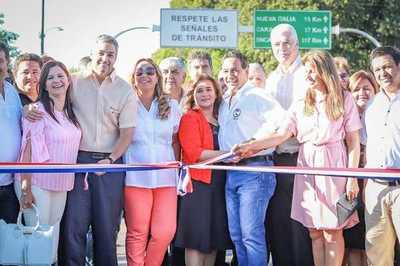 Presidente inaugura pavimentación asfáltica del tramo Itá – Nueva Italia