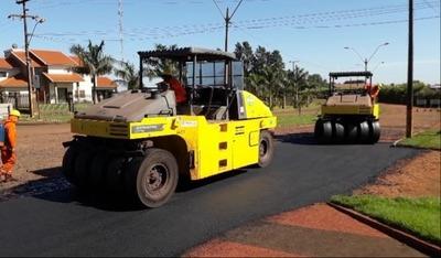 Pavimentarán caminos de los distritos de Naranjal y Los Cedrales