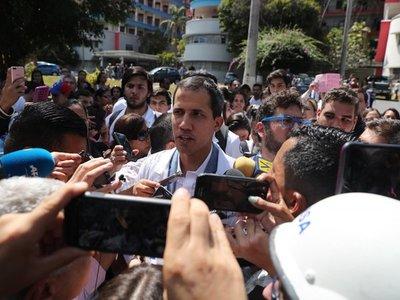 Parlamento Europeo reconoce a Juan Guaidó como presidente