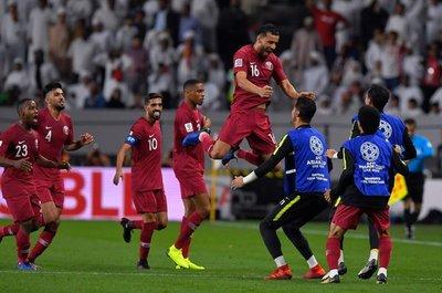 Catar quedaría fuera de la final de la Copa de Asia