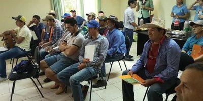 Productores del proyecto Ybytyruzu Respira recibieron capacitación