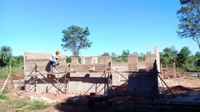Avanzan obras para el centro de protección a niñez y adolescencia de pueblos originarios en Juan Manuel Frutos