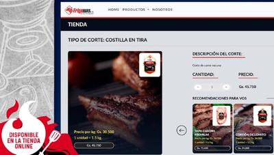 ¿Carne online? Frigomas ofrece los mejores cortes haciendo clic