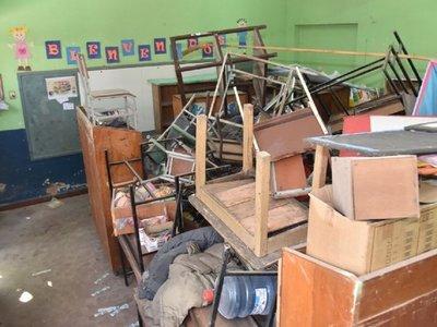 Informe del MEC revela que en Caaguazú existe peligro de derrumbe de aulas