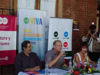 Asunción no solo es bache y basura, sino también arte, afirma intendente