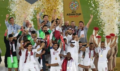 Euforia en Catar al ganar Copa de Asia