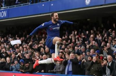 Gonzalo Higuaín comienza a facturar en el Chelsea