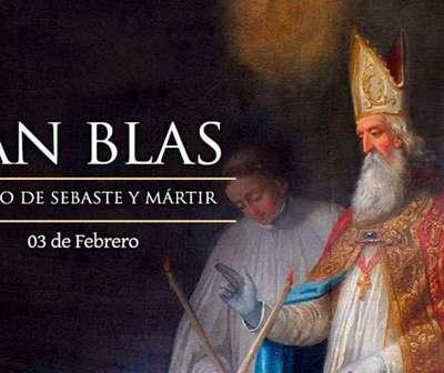Fiesta de San Blas, patrono de enfermedades de la garganta y laringólogos