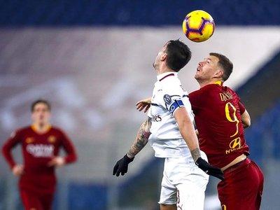 Roma y Milan firman tablas