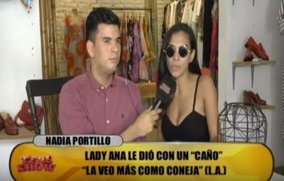 """Lady Ana trató """"zorra"""" a Nadia Portillo"""