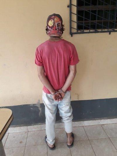 Detienen a joven con orden de captura en Caaguazú