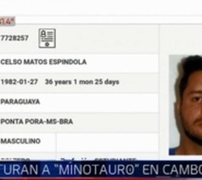 Capturan a 'Minotauro' supuesto jefe narco en Camboriú