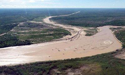 Crecida del Río Pilcomayo pone en alerta a las autoridades