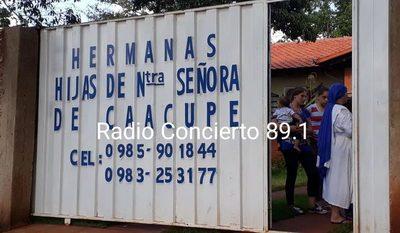 Desconocidos roban G. 3 millones a Hermanas de una Congregación de Minga Guazú