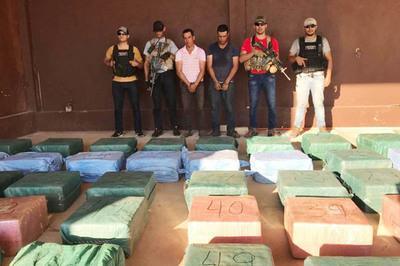Senad y FTC incautan más de 2 toneladas de cocaína
