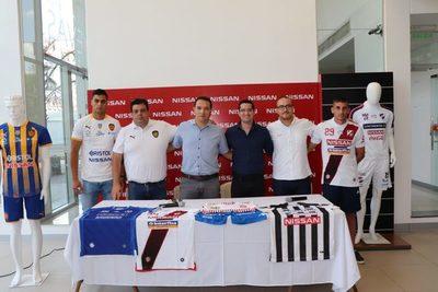 Nissan apostó por seis clubes paraguayos