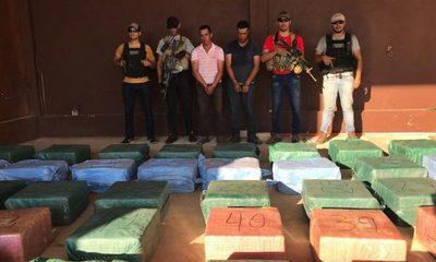 Histórico decomiso de cocaína en Paraguay