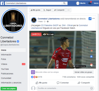 La Facebook Libertadores – Prensa 5