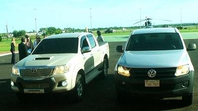 Senabico entrega vehículos incautados para ser utilizados por la Policía Nacional