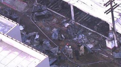 10 muertos en el incendio de un centro de entrenamiento del club de fútbol Flamengo