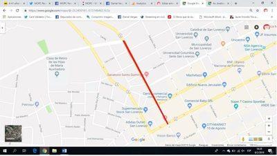 Ruta 2 desde Hernandarias hasta Avelino Martínez permanecerá clausurado durante el sábado domingo