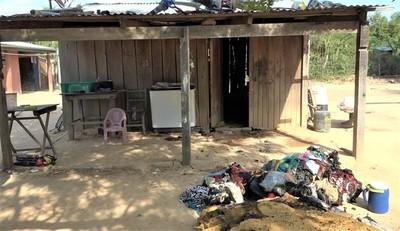 Familia solicita ayuda tras el incendio de su vivienda en Villa Choferes del Chaco